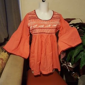 Luv luv blouse women size  L